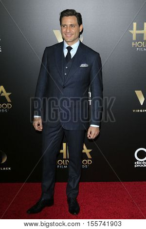 LOS ANGELES - NOV 6:  Edgar Ramirez at the 20th Annual Hollywood Film Awards  at Beverly Hilton Hotel on November 6, 2016 in Beverly Hills, CA