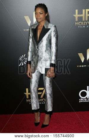LOS ANGELES - NOV 6:  Naomie Harris at the 20th Annual Hollywood Film Awards  at Beverly Hilton Hotel on November 6, 2016 in Beverly Hills, CA
