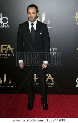 LOS ANGELES - NOV 6:  Tom Ford at the 20th Annual Hollywood Film Awards  at Beverly Hilton Hotel on November 6, 2016 in Beverly Hills, CA