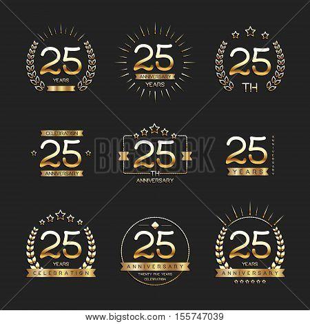 Anniversary Seal Images Illustrations Vectors Free Bigstock