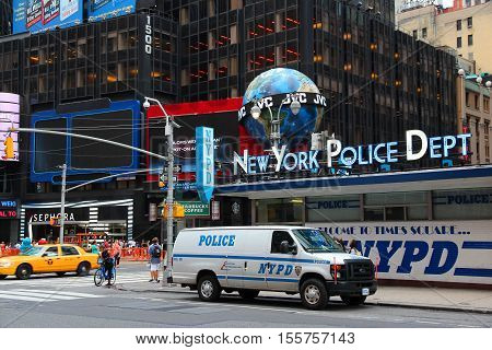 Nypd, Times Square