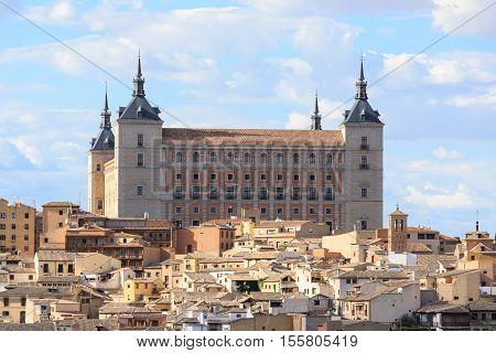 Toledo is capital of province of Toledo near Madrid Spain.