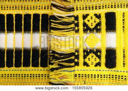 Woolen. Ecuadorian wool fabric