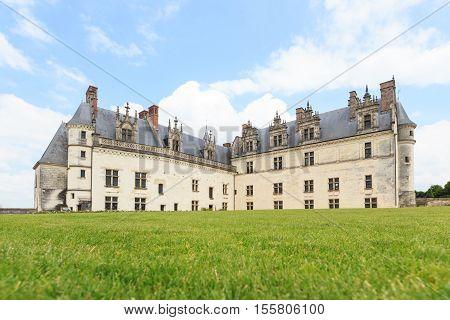 Chateau de Amboise medieval castle in Loire Valley France