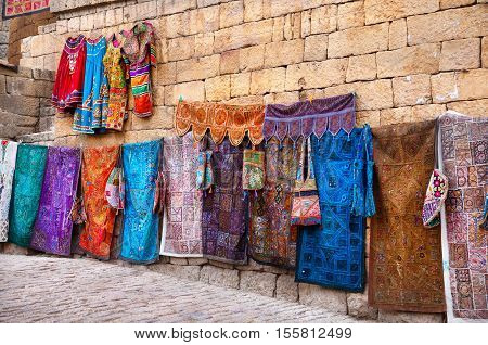 Street Market Of Jaisalmer Fort