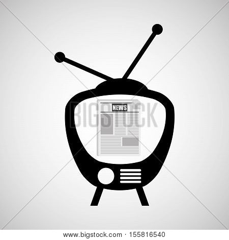 television news broadcast design vector illustration eps 110
