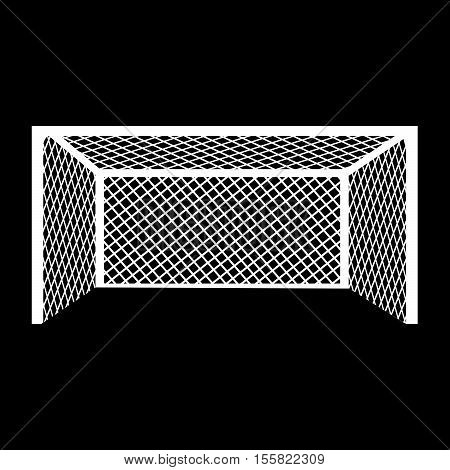 an images of Soccer football goal icon illustration design