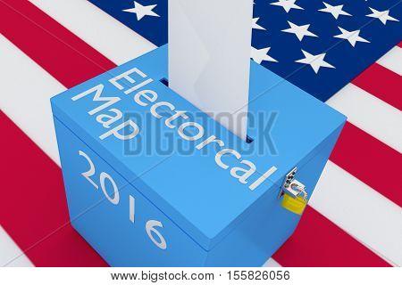 Electoral Map Concept