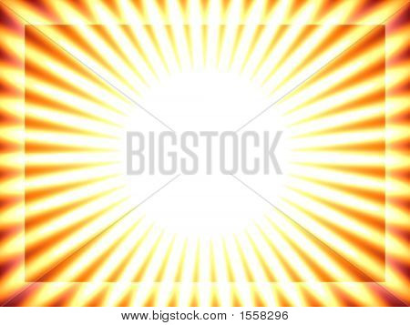 Sun Background, Yellow Stripes, Rays, Solar
