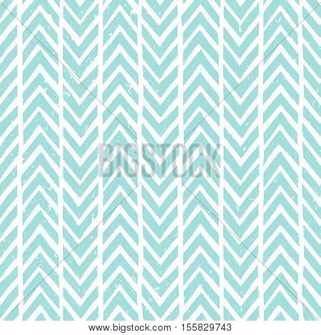 Seamless hand-drawn pattern in blue. Abstract vector background for winter and Christmas design. EPS10.