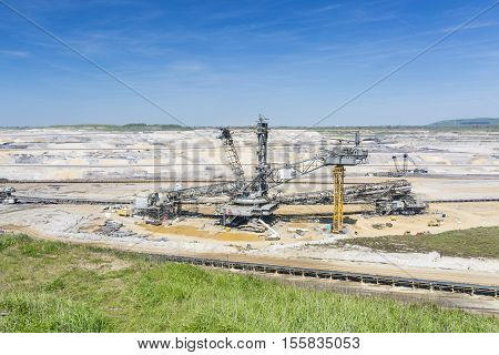 Bucket Wheel Excavator Under Repair