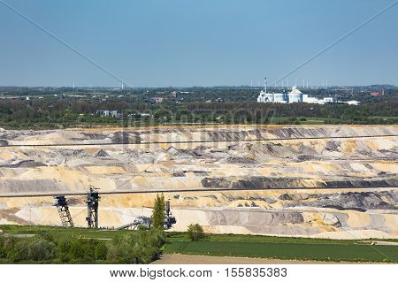 Pit Mine And Sugar Factory