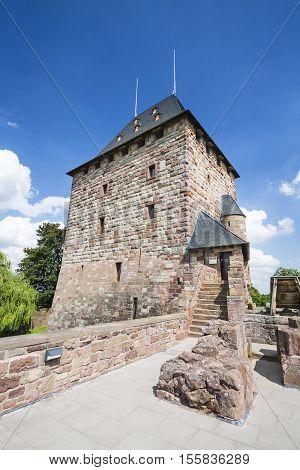 Nideggen Castle Tower In Germany, Editorial