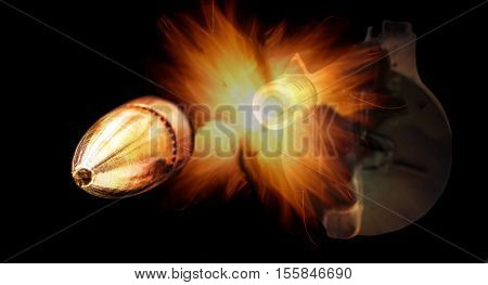 Machine Gun Bullet