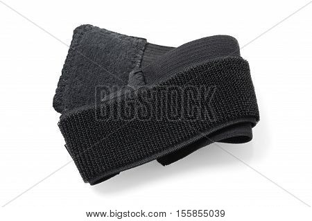 wrist support isolated on white background, sport and medical equipment