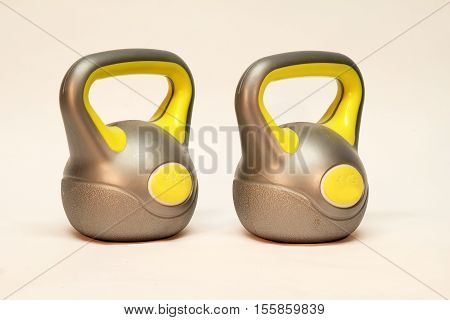 Kettlebell / Inscription on the weighing problem: 4 kg