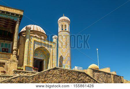 View of Hazrat Khizr Mosque in Samarkand, Uzbekistan