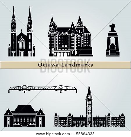 Ottawa V2  Landmarks And Monuments