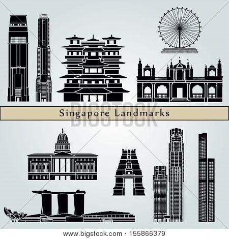 Singapore V2 Landmarks