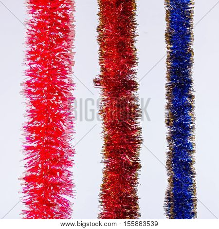 Christmas tinsel decoration for Christmas trees tinsel Christmas tree