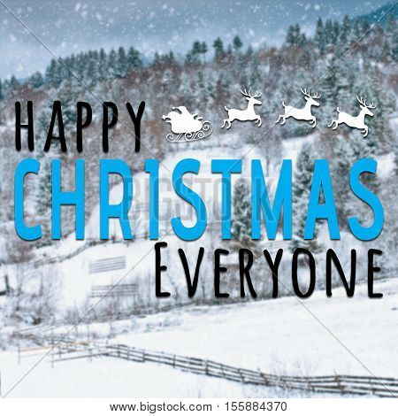 Happy Christmas Everyone Inspirational Quote