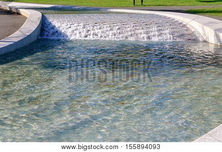 Princess Diana Memorial Fountain In Hyde Park