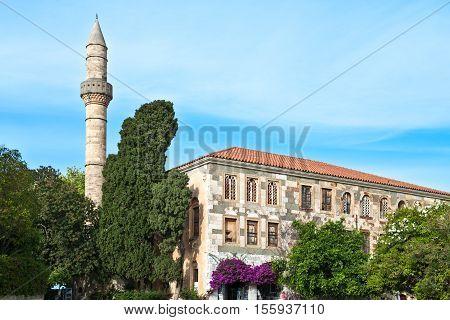 Greece Dodecanese Kos the Adid Hasaan mosque
