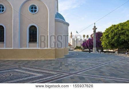 Greece Dodecanese Kos, the Agia Paraskevis church