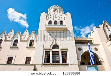 Greece Dodecanese Kos the Justice Palace in the waterfront