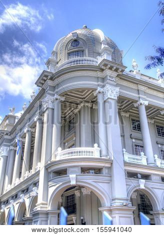 Municipal building in the city of Guayaquil, Guayas province, Ecuador