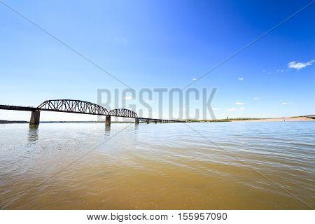 Turbid Waters Of Missouri River