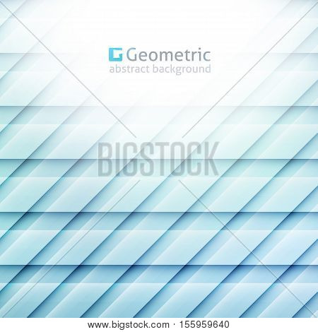 vector geometric abstract background of parallelograms and lines