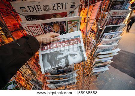Tag Die Tageszeitung Donald Trump New Usa President