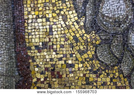 Mosaics on the Interior Walls of St. Peter's Basilica in Rome Italy