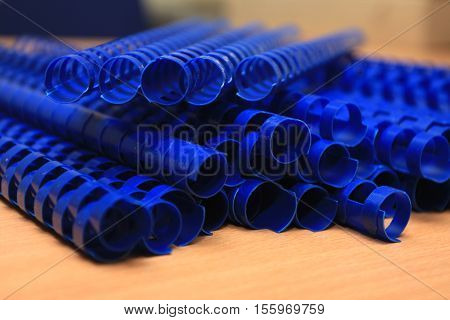 plastic binding combs for professional work .