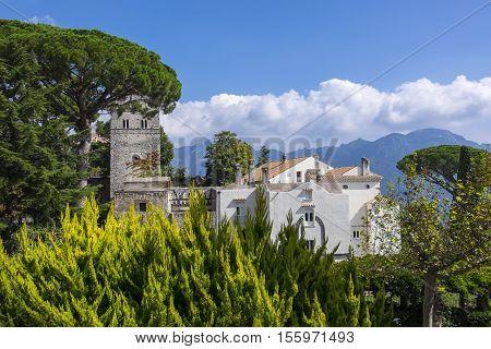 Villa Cimbrone in Ravello Amalfi Coast Italy
