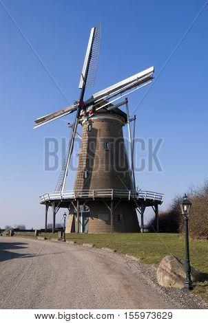 The Hollandsche Molen is a windmill in the hamlet lochuizen just outside the village Neede in the Dutch region Achterhoek