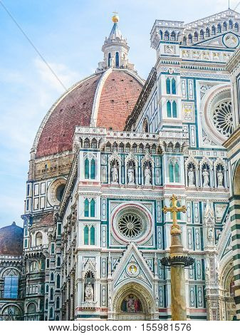 Hdr Florence Cathedral