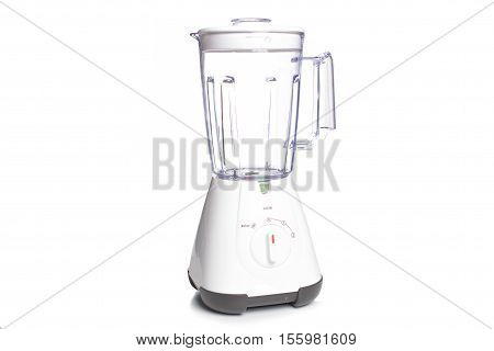 Empty Electric Blender On White Background,kitchen Concept