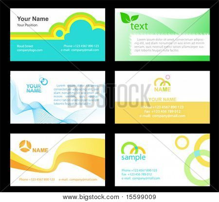 business cards templetes