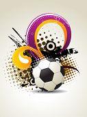 football vector artistic design poster