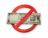 Demonetisation of Indian Rupees 500 Currency Notes becomes invalid poster