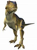 3 D Computer Render of an Tyrannosaurus poster