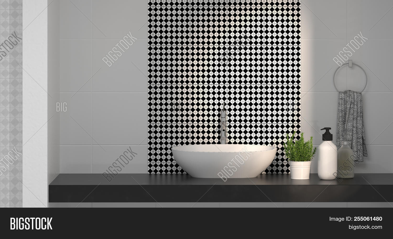 Modern Bathroom Image Photo Free Trial Bigstock