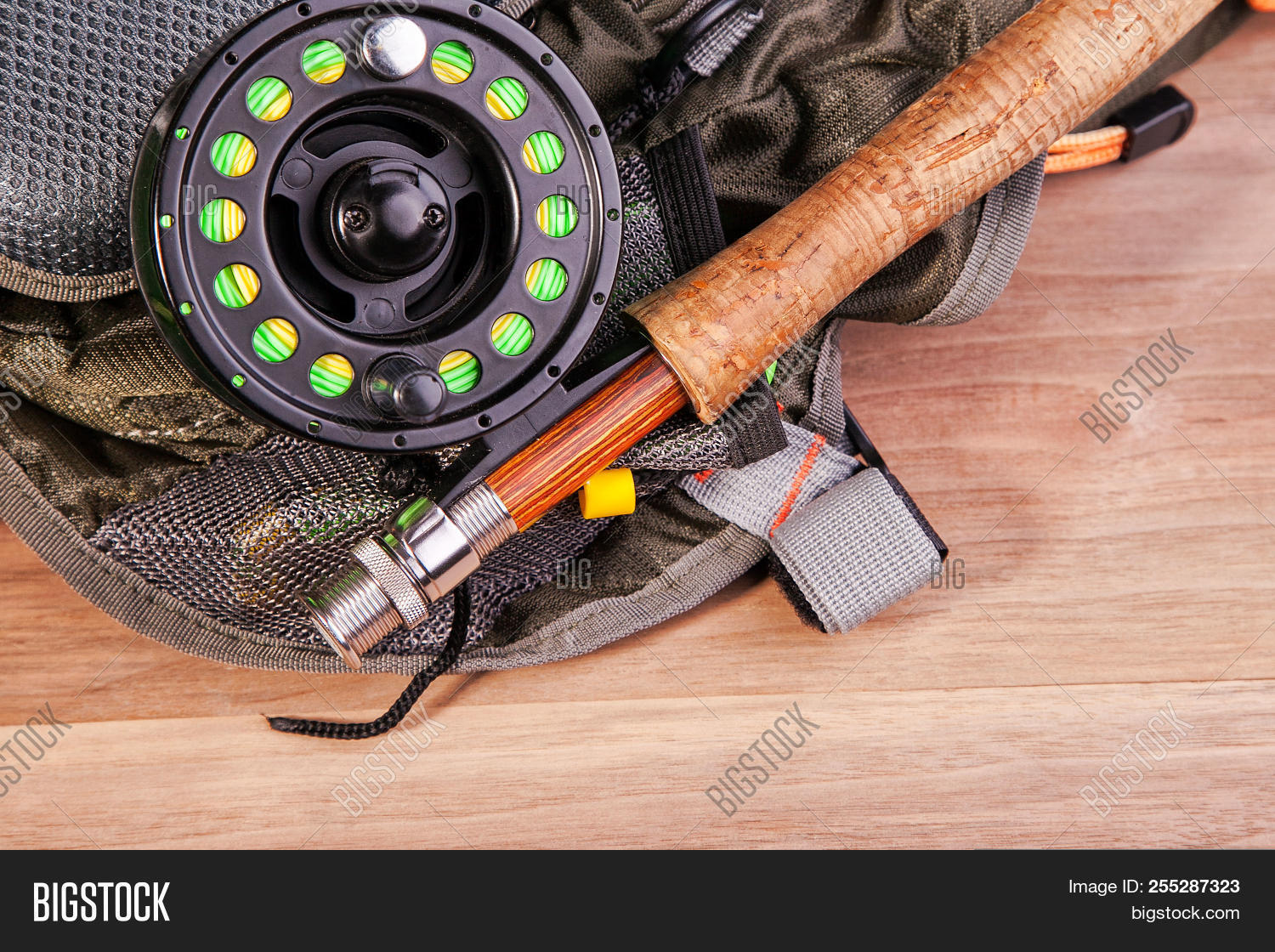 Fly Fishing Rod Coil Image Photo Free Trial Bigstock