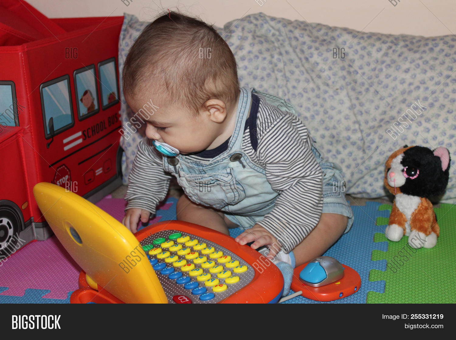 6 Months Old Baby Boy Image Photo Free Trial Bigstock