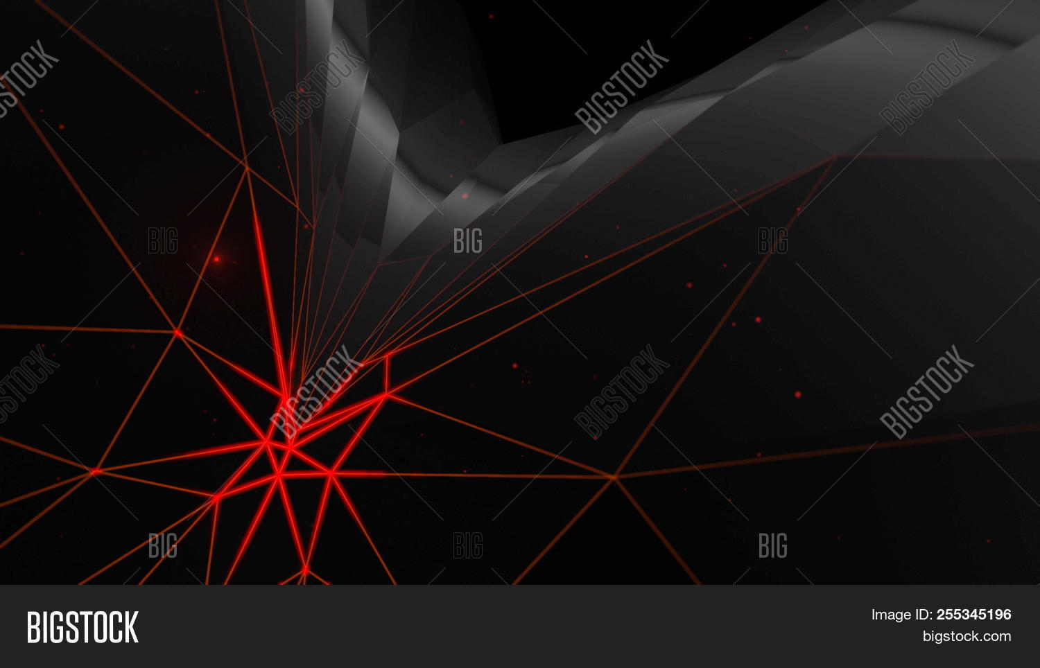 Black Abstract Science Image Photo Free Trial Bigstock