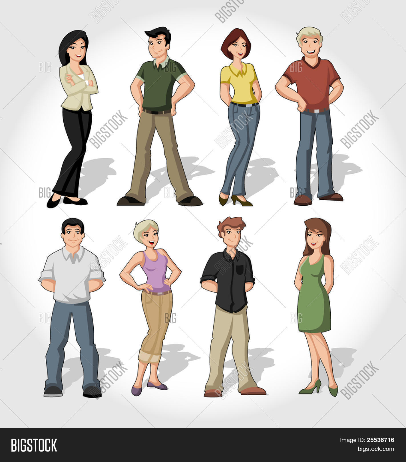 Grupo de gente conociendose dibujos [PUNIQRANDLINE-(au-dating-names.txt) 31
