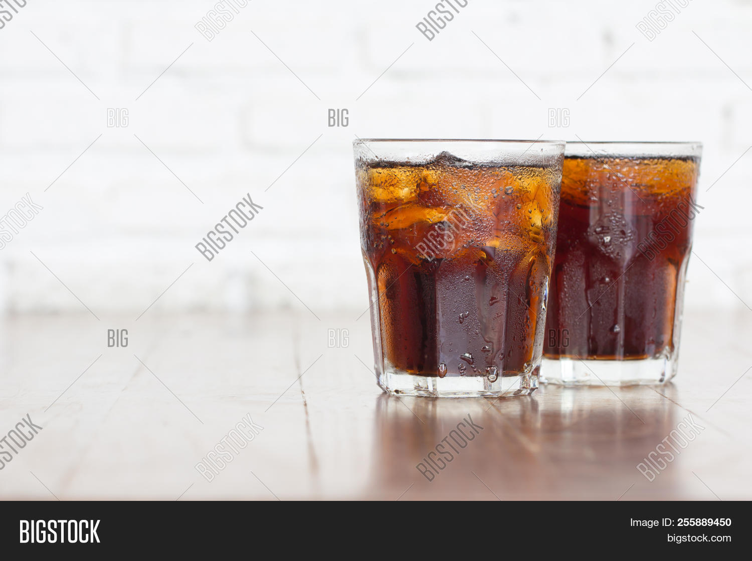 Cool Iced Soft Drink Image Photo Free Trial Bigstock