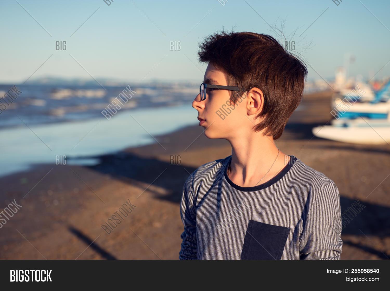 Young Boy Posing Image Photo Free Trial Bigstock